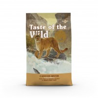 Croquettes pour chat - TASTE OF THE WILD Canyon River