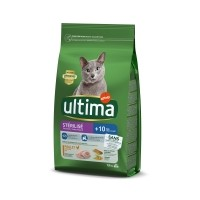 Croquettes pour chat - Ultima Stérilisé + 10 ans