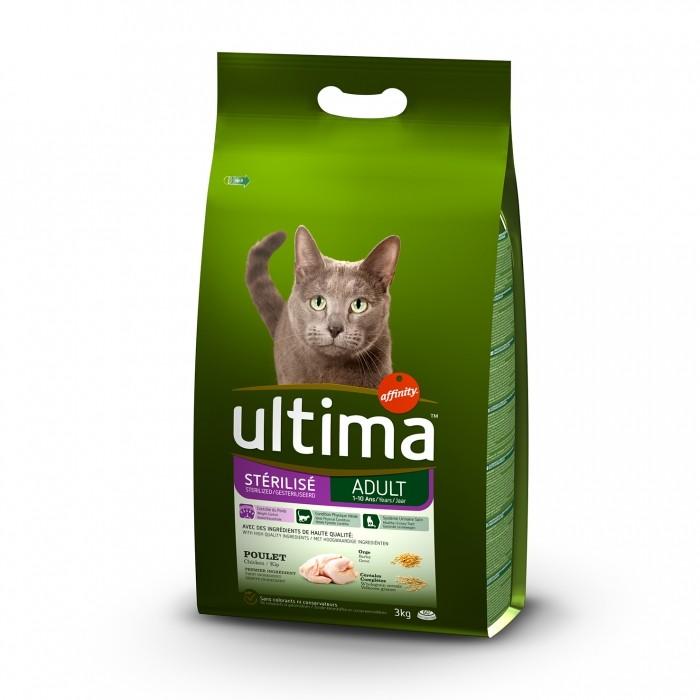 Alimentation pour chat - Ultima Stérilisé Adult pour chats