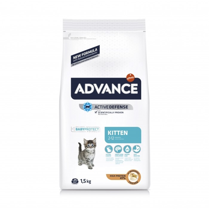 Alimentation pour chat - ADVANCE Kitten pour chats