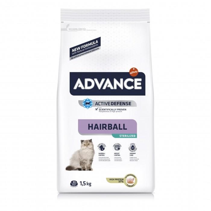 Alimentation pour chat - ADVANCE Sterilized Hairball pour chats