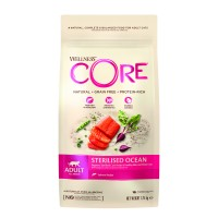 Croquettes pour chat - Wellness CORE Sterilised - Saumon