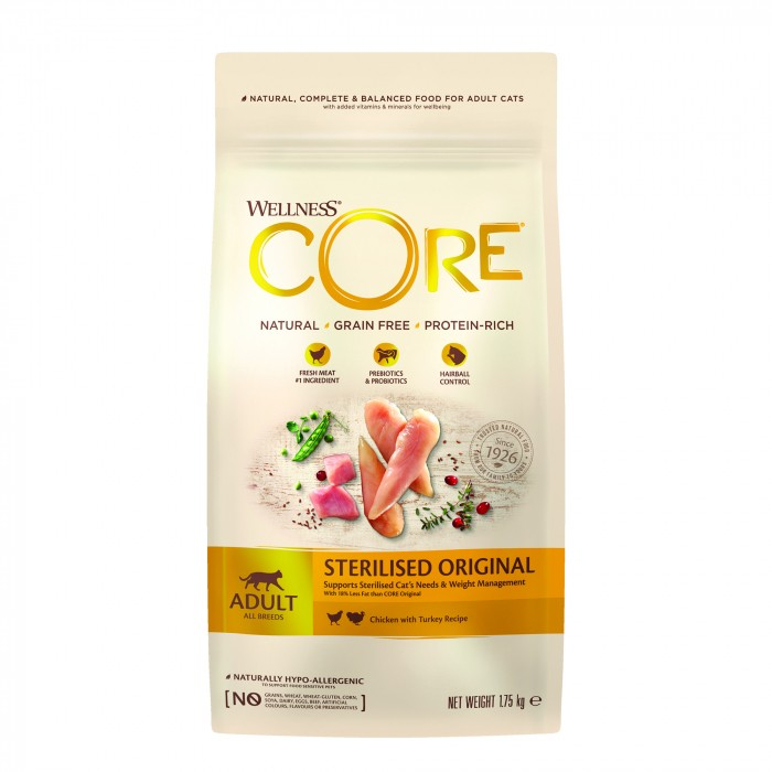 Wellness CORE Sterilised - Poulet et Dinde-Sterilised - Poulet et Dinde