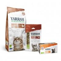 Croquettes, pâtées et friandises pour chat - Yarrah, Pack découverte Grain Free pour chat adulte Pack découverte Grain Free pour chat adulte