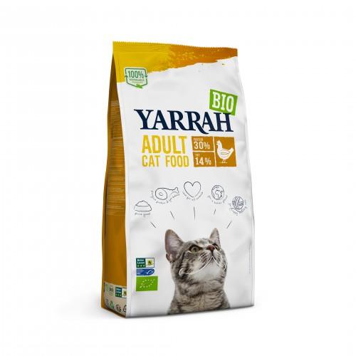 Alimentation pour chat - Yarrah Croquettes biologiques Adult pour chats