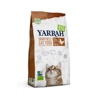 Croquettes pour chat - Yarrah Croquettes biologiques sans céréales Croquettes biologiques sans céréales