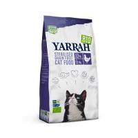 Croquettes pour chat - Yarrah Croquettes biologiques pour chat stérilisé Croquettes biologiques pour chat stérilisé