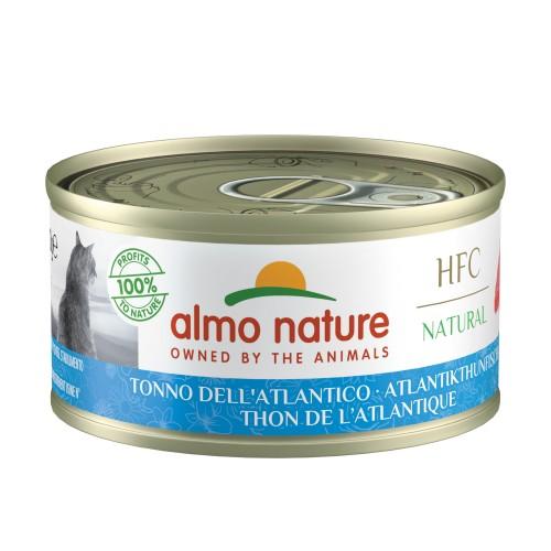 Alimentation pour chat - Almo Nature HFC Natural - Lot 48 x 70 g pour chats
