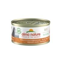 Pâtée en boîte pour chat - Almo Nature HFC Natural - Lot 48 x 70 g