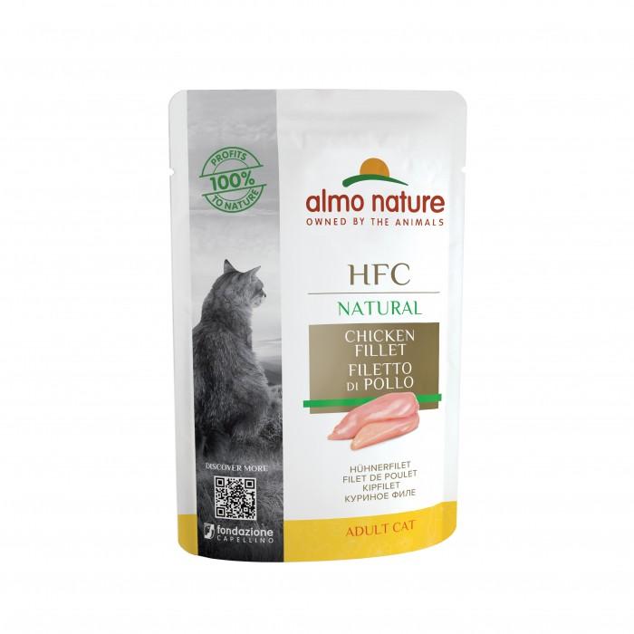 Alimentation pour chat - Almo Nature HFC Natural - Lot - 48 x 55 g pour chats