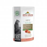 Sachet fraîcheur pour chat - Almo Nature HFC Natural - Lot - 48 x 55 g