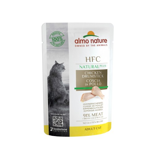 Alimentation pour chat - Almo Nature HFC Natural Plus - 48 x 55 g pour chats