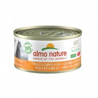 Pâtée en boîte pour chat - Almo Nature HFC Natural Made in Italy Grain Free - 48 x 70 g