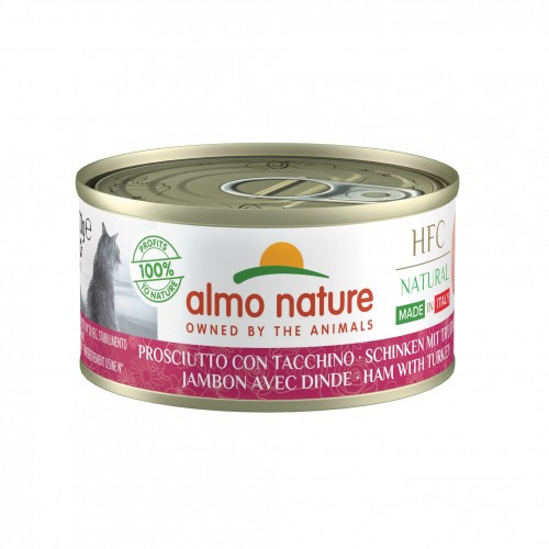 Alimentation pour chat - Almo Nature HFC Natural Made in Italy Grain Free - 48 x 70 g pour chats