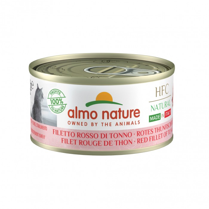 Alimentation pour chat - Almo Nature HFC Natural/Jelly Made in Italy Gluten Free - 48 x 70 g pour chats