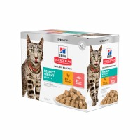 Aliment en boîte pour chat - HILL'S Science plan Adult Perfect Weight