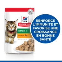 Sachet fraîcheur pour chaton - HILL'S Science plan Kitten - Lot 12 x 85 g