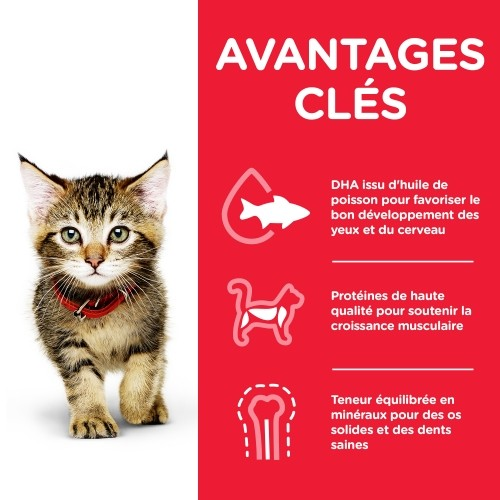 Alimentation pour chat - Hill's Science Plan Kitten Mousse pour chats