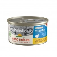 Pâtée en boîte pour chat - Almo Nature Holistic Fonctionnel - Sterilised Holistic Fonctionnel - Sterilised