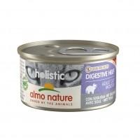 Pâtée en boîte pour chat - Almo Nature Holistic Fonctionnel Digestive - 24 x 85 g