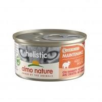 Pâtée en boîte pour chat - Almo Nature Holistic Maintenance Adult - 24 x 85 g