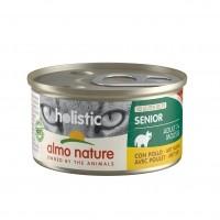 Pâtée en boîte pour chat - Almo Nature Holistic Maintenance Senior - 24 x 85 g