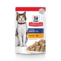Sachet fraîcheur pour chat de plus de 7 ans - HILL'S Science Plan  Mature Adult 7+