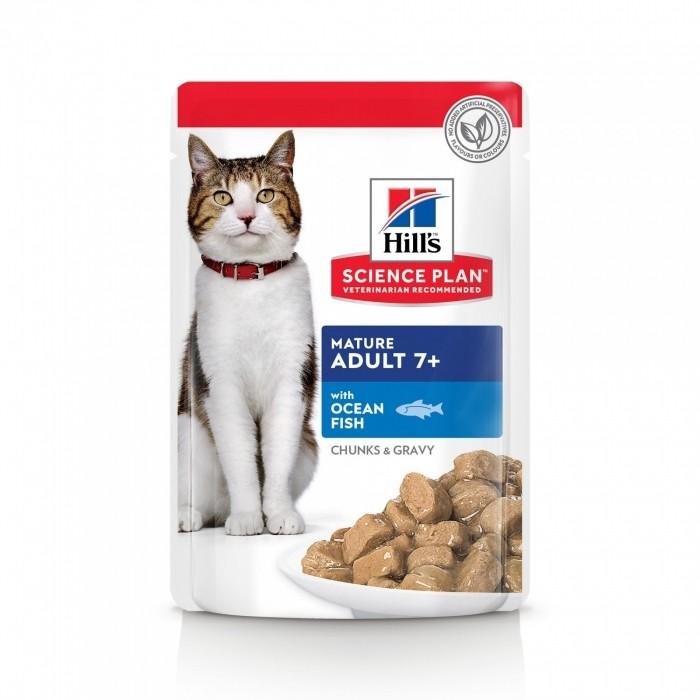 Alimentation pour chat - Hill's Science Plan Mature Adult 7+ pour chats