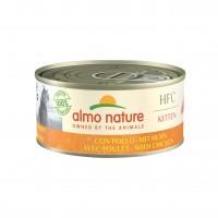 Pâtée en boîte pour chaton - Almo Nature HFC Kitten - Lot 6 x 150 g