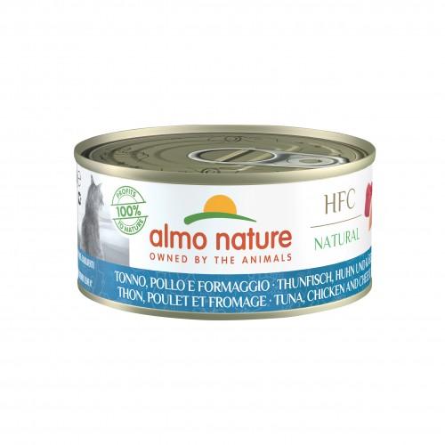 Alimentation pour chat - Almo Nature HFC Natural - 6 x 150 g pour chats