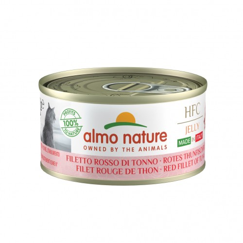 Alimentation pour chat - Almo Nature HFC Natural/Jelly Made in Italy Gluten Free - 24 x 70 g pour chats