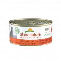 Pâtée en boîte pour chat - Almo Nature HFC Natural - Lot 24 x 150 g