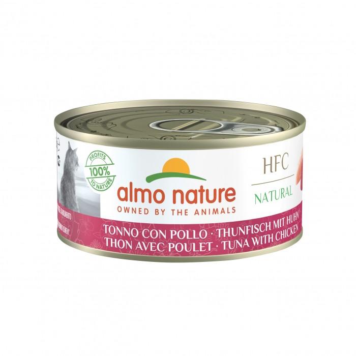 Alimentation pour chat - Almo Nature HFC Natural - Lot 24 x 150 g pour chats