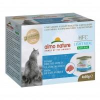 Pâtées en boîte pour chat - Almo Nature HFC Light Meal