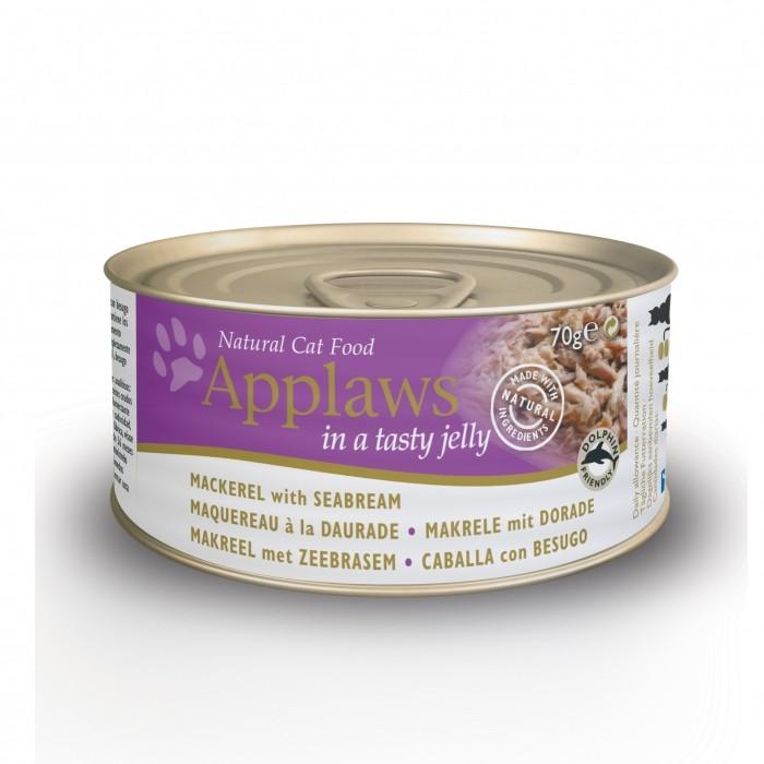Alimentation pour chat - APPLAWS Boîtes en gelée Adulte - 24 x 70g pour chats