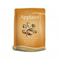 Sachets fraicheurs pour chat - APPLAWS Sachets en bouillon Adulte - 24 x 70 g