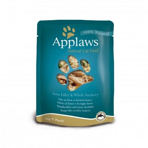 Alimentation pour chat - APPLAWS Sachets en bouillon Adulte - 12 x 70 g pour chats