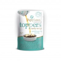 Aliment humide pour chat - APPLAWS Toppers soupe