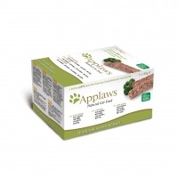 Pâtée en barquette pour chat - APPLAWS Multipack Fresh - 7 x 100 g