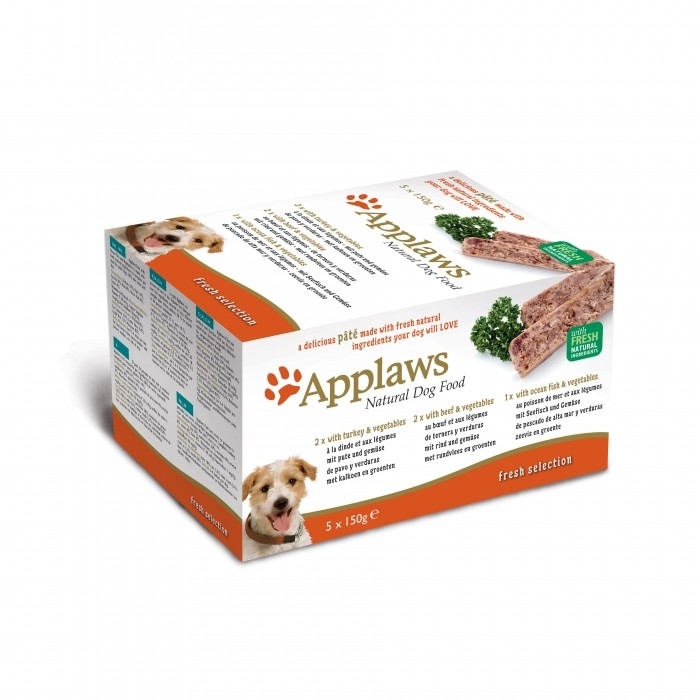 Alimentation pour chat - APPLAWS Multipack Fresh - 7 x 100 g pour chats