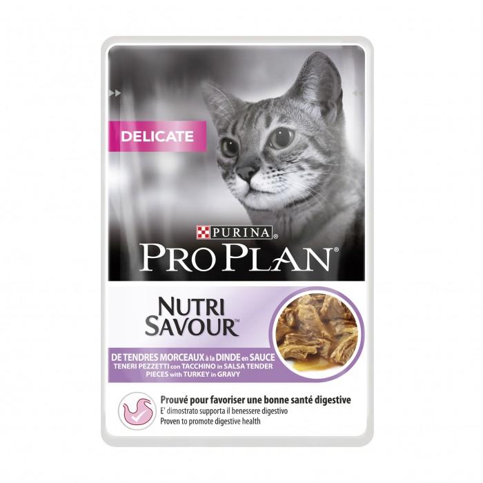 Alimentation pour chat - Proplan Nutrisavour Delicate pour chats