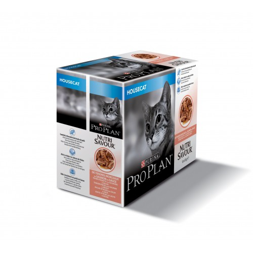 Alimentation pour chat - Proplan Nutrisavour Housecat en sauce pour chats