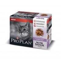 Pâtée en sachet pour chat - Proplan Nutrisavour Adult en geléé Nutrisavour Adult en gelée