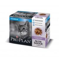 Pâtée en sachet pour chat - PURINA PROPLAN Nutrisavour Housecat en gelée