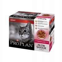 Pâtée en sachet pour chat - Proplan Nutrisavour Adult en sauce Nutrisavour Adult en sauce