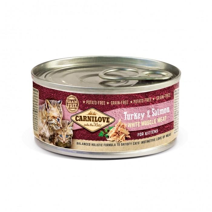 Alimentation pour chat - CARNILOVE Pâtée Chaton à la viande blanche pour chats