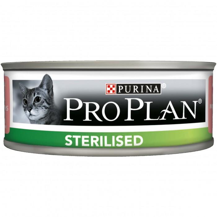 Alimentation pour chat - Proplan Sterilised - Lot 24 x 85g pour chats