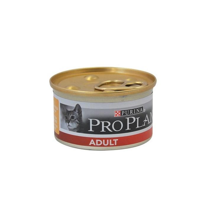 Alimentation pour chat - Proplan Adult - Lot 24 x 85g pour chats