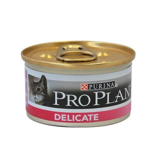Alimentation pour chat - Proplan Delicate - Lot 24 x 85g pour chats
