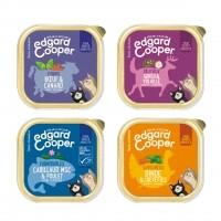 Pâtée en barquette pour chat - Edgard & Cooper Multipack Pâtée Adulte Sans Céréales